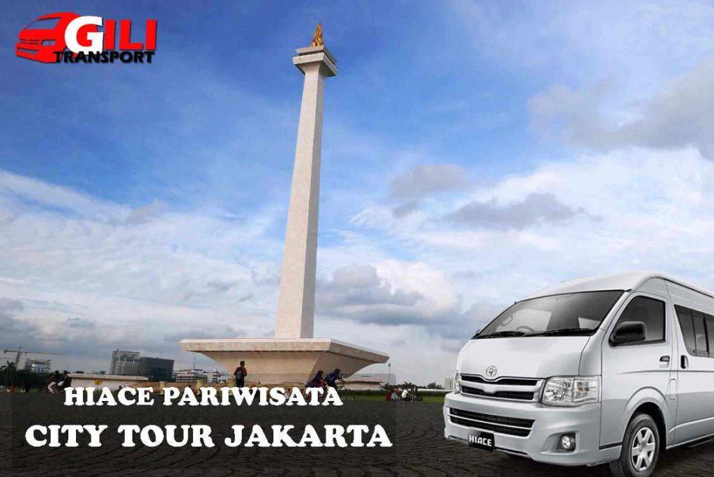 sewa hiace pariwisata city tour Jakarta