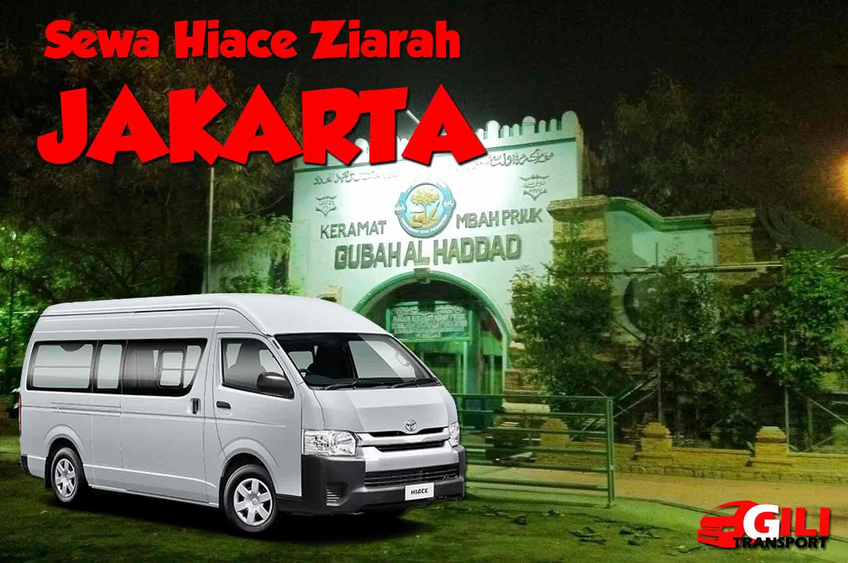 sewa hiace wisata ziarah Jakarta