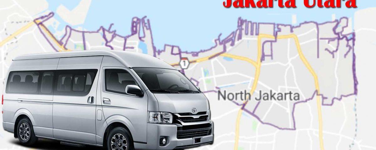 Rental sewa Toyota Hiace Jakarta Utara