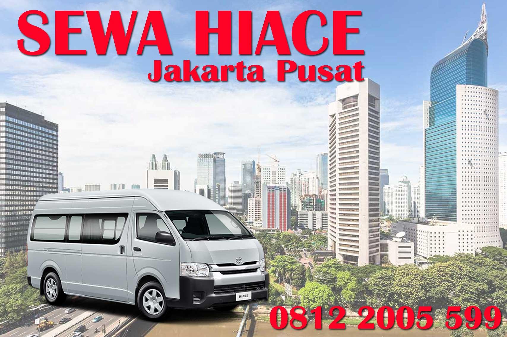 Sewa Hiace Murah Jakarta Pusat