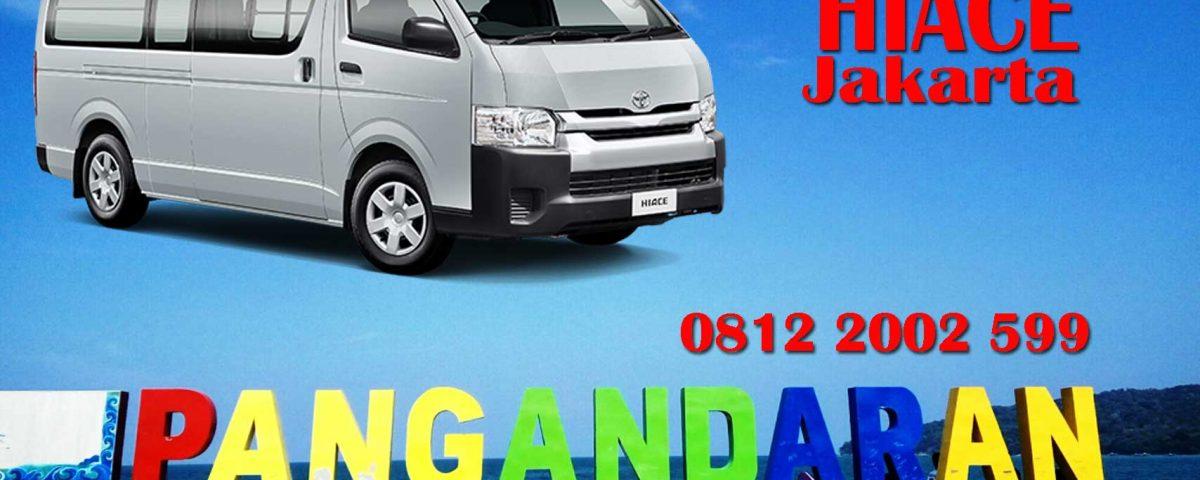 Sewa Mobil Hiace Jakarta Pangandaran