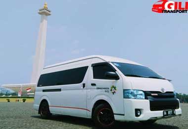 sewa hiace wisata city tour Jakarta
