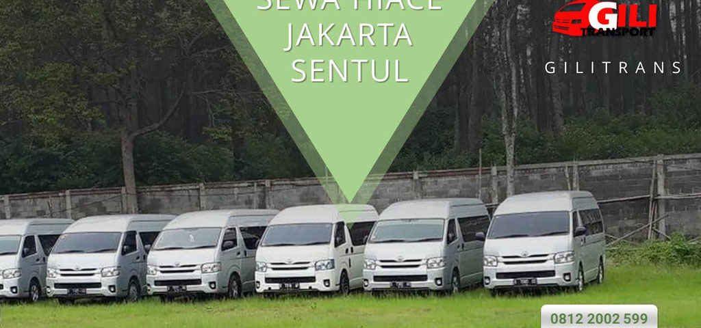sewa hiace Jakarta sentul