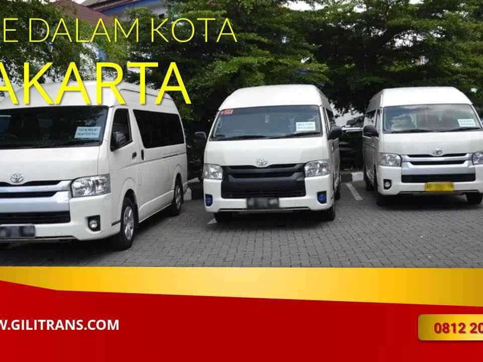 sewa hiace dalam kota Jakarta