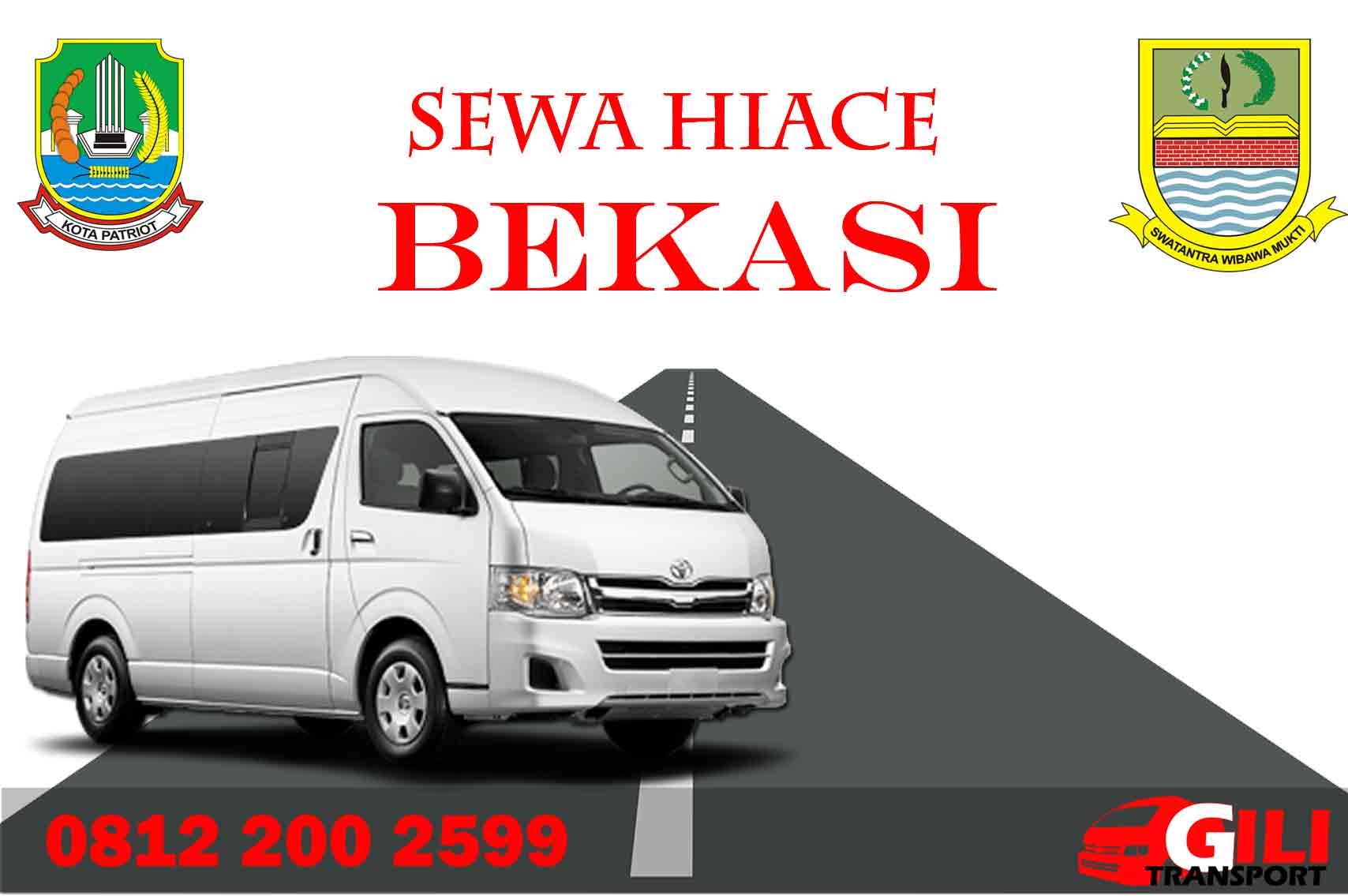 harga sewa hiace di Bekasi gilitrans.com