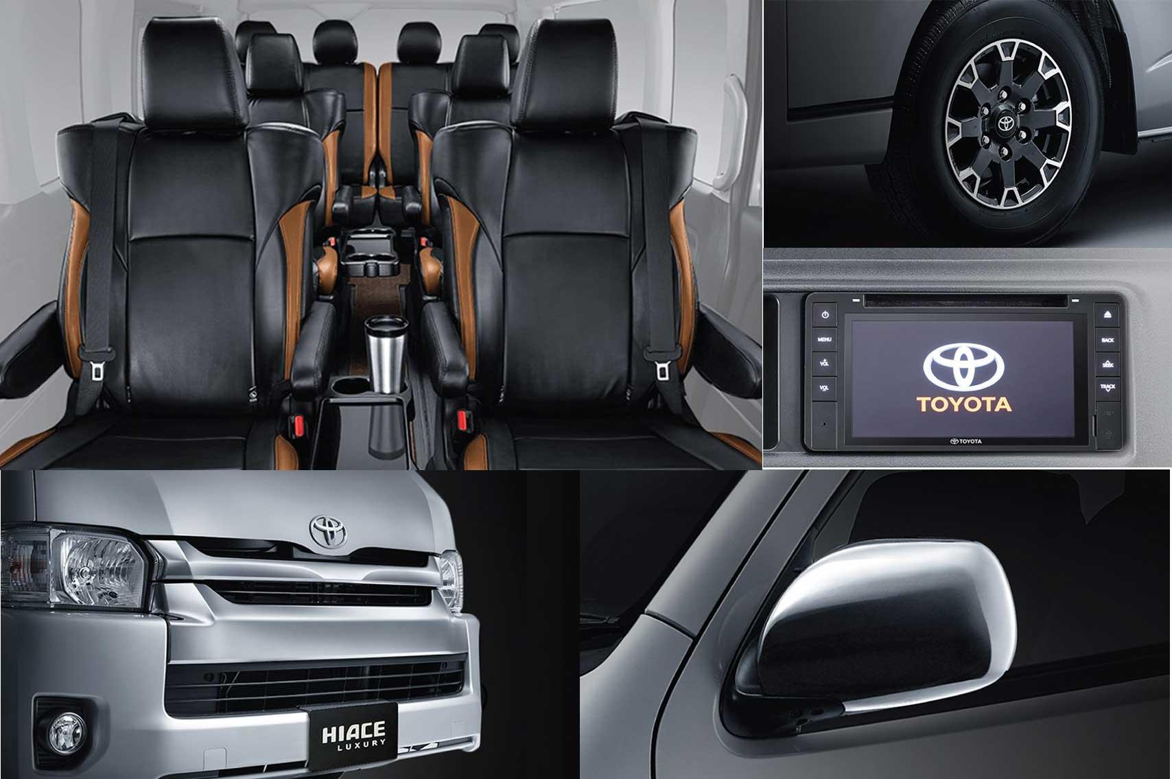 Spesifikasi dan interior toyota hiace luxury
