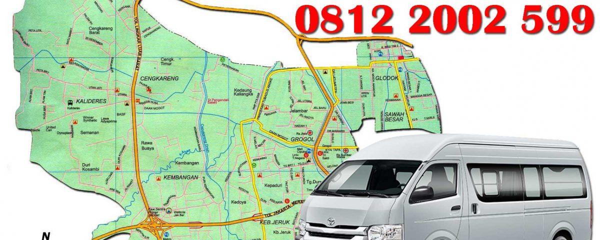 sewa mobil hiace di Jakarta Barat