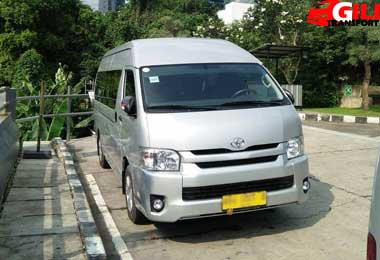 sewa toyota hiace commuter Jakarta Harga Murah