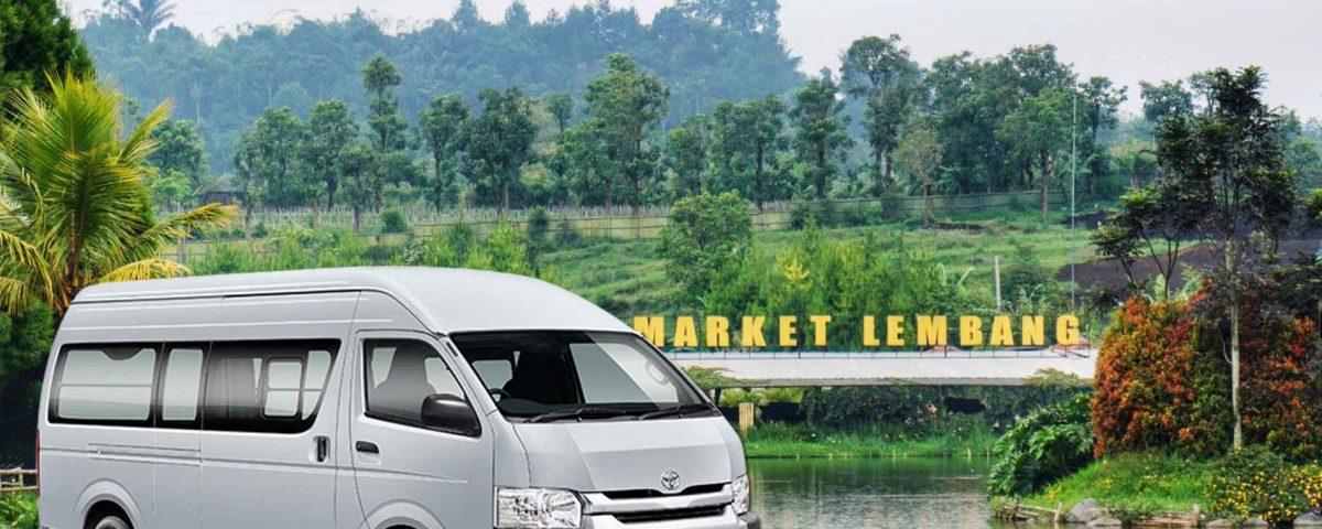 sewa hiace Jakarta lembang
